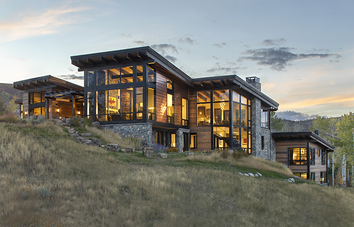 luxury mountain home architects